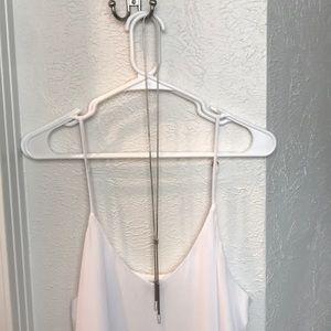 Henri Bendel long lariat necklace
